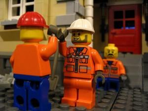 Lego high five