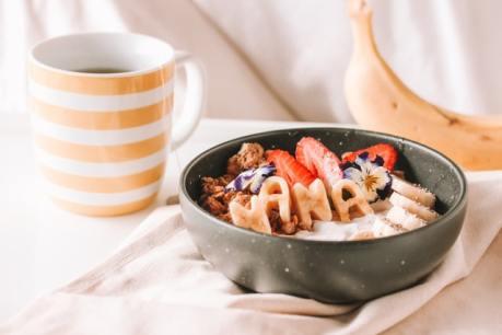 prendre un petit déjeuner
