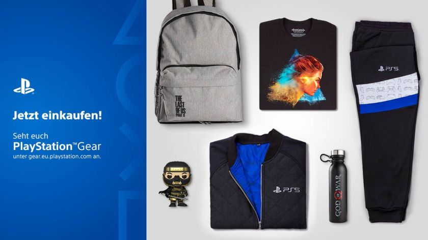 The PlayStation Gear Store is now open again.