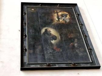 Altes Gemälde in der Kirche