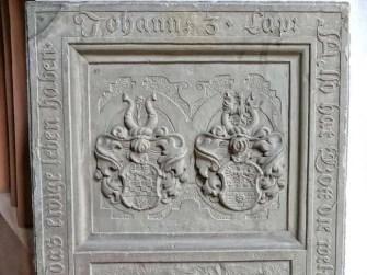 Grabinnenschrift in der Wenzelskirche Naumburg