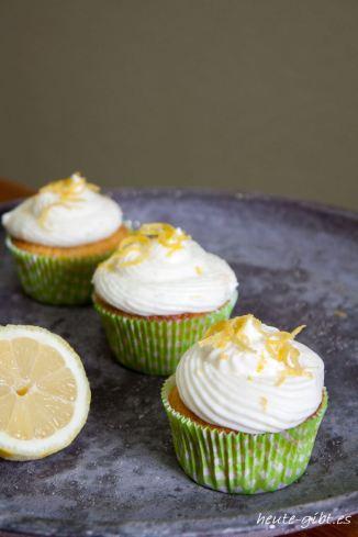 Zitronige Cupcakes