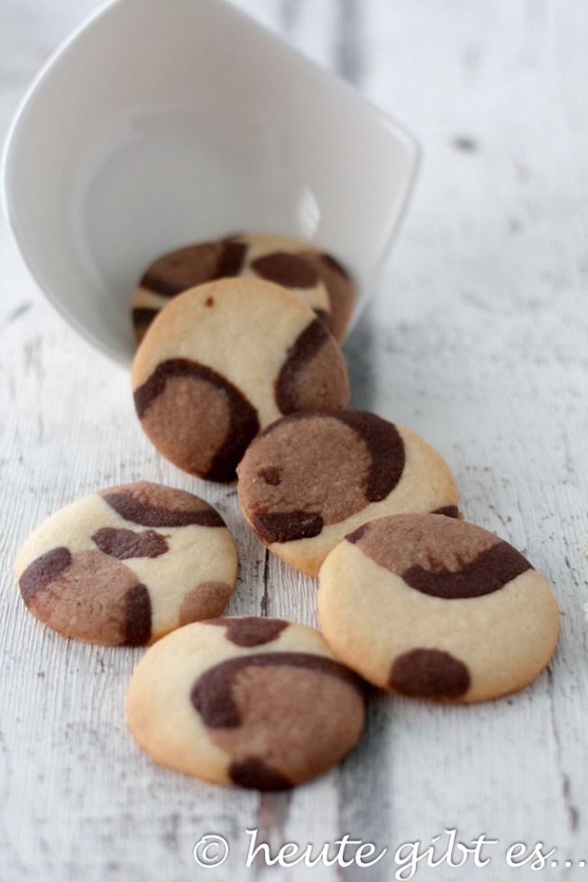 heute gibt es... Leoparden Kekse