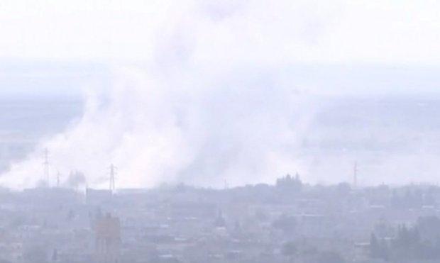 Сарекания под артобстрелом турецких войск