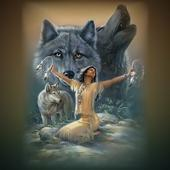 The Young Man, Angel And Wolf