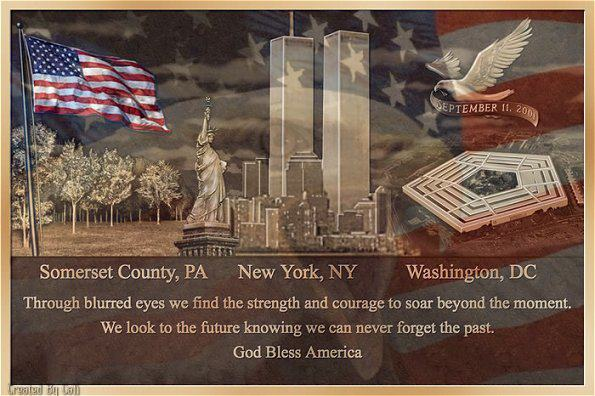 The Day We'll Never Forget…..A Day They Call 9/11