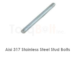 Aisi 317 Stainless Steel Stud Bolts