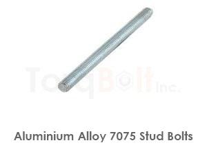 Aluminium 7075 Stud Bolts