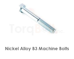 Hastelloy B3 Bolts