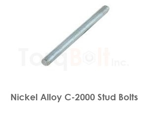 Hastelloy C-2000 Stud Bolts