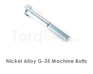 Hastelloy G-35 Bolts