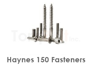 Haynes 150 Fasteners like Heavy Hex Bolts Screws Nuts Washers