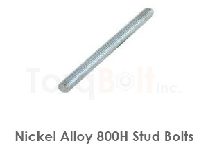 Incoloy 800h Stud Bolts