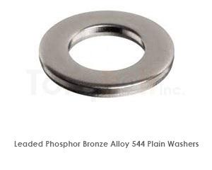 Leaded Phosphor Bronze 544 Washers   Phosphor Bronze Washers