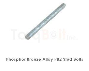 Phosphor Bronze Pb2 Stud Bolts