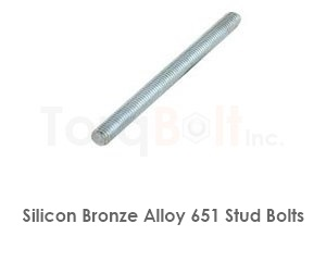 Silicon Bronze 651 Stud Bolts