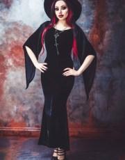 Freya Velvet Maxi Dress