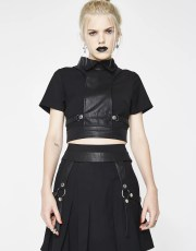 Disturbia Alice Harness Skirt