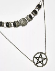 Killstar Phases Layer Necklace