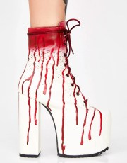 Dolls Kill Scream Queen Platform Boots