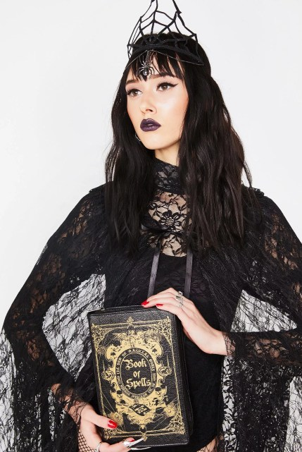 Halloween Book Of Spells Bag