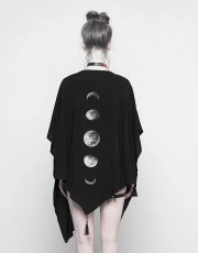 Punk Rave Phases Of Moon Punk Cloak