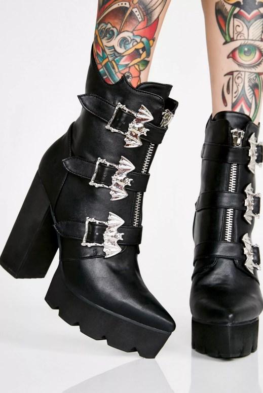 Widow Coven Supreme Platform Booties