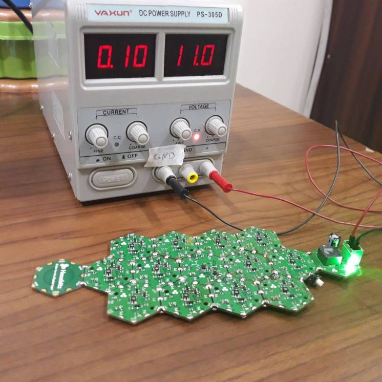 power supply with array