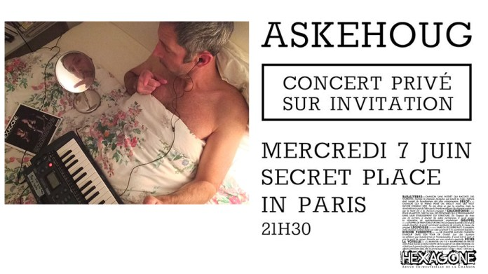 Concert privé d'Askehoug : places à gagner !