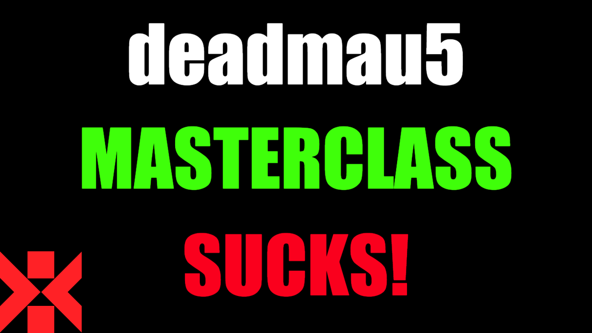 deadmau5 Masterclass Sucks!