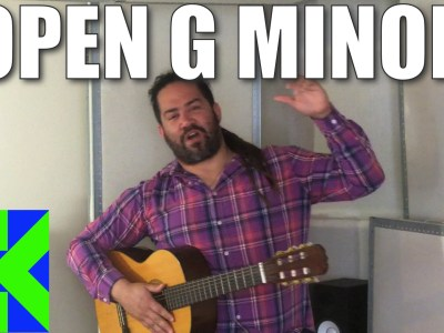 Open G Minor Tuning Guitar Lesson
