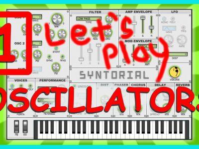 Easy Synth Programming – Oscillators