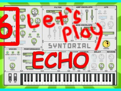 Easy Synth Programming – Echo