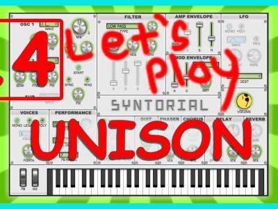 Easy Synth Programming – Unison