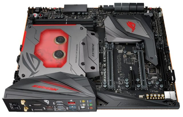 16e85c05 ea93 4fdf b4c9 4e89a283f4d8 ASUS ROG Maximus IX Extreme   How does it feel to use a Z270 chipset with a Bitspower monoblock