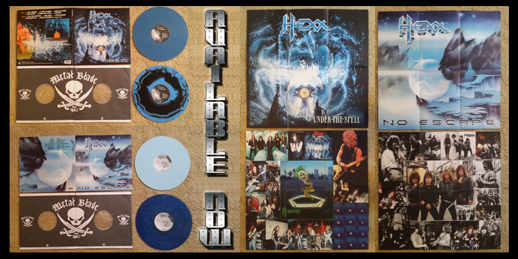 Metal Blade's 2nd pressing of No Escape and Under the Spell are available now!!