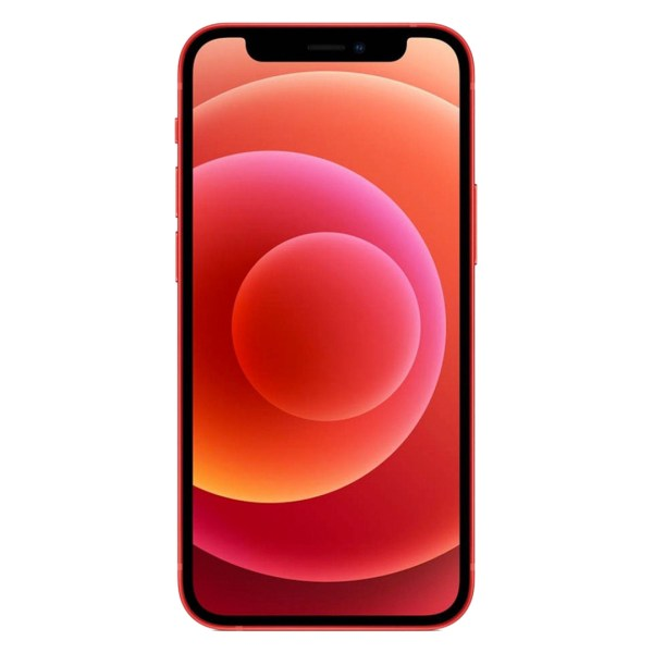 iPhone 12 red frente
