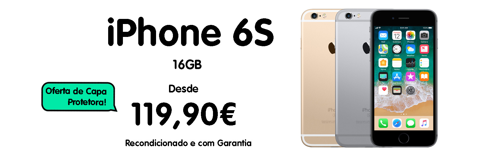 iphone 6s 16GB banner