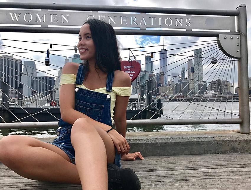Pauline in New York