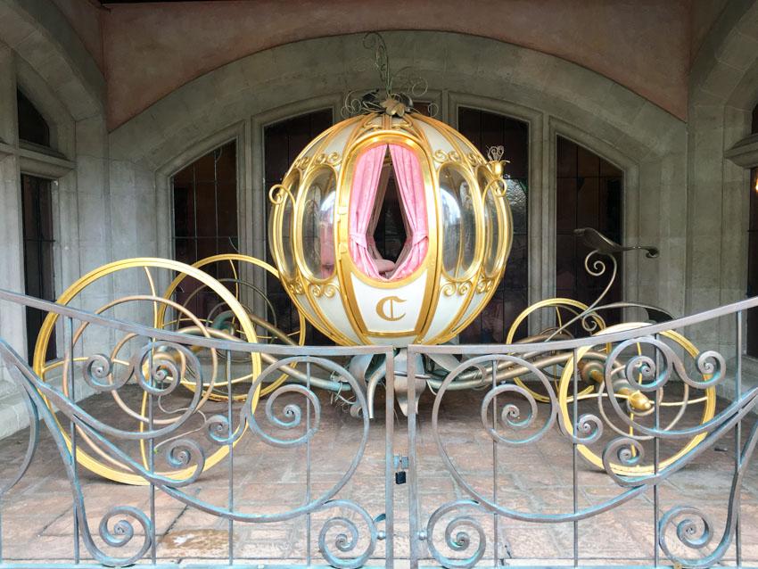 Cinderella's Coach at Disneyland Paris
