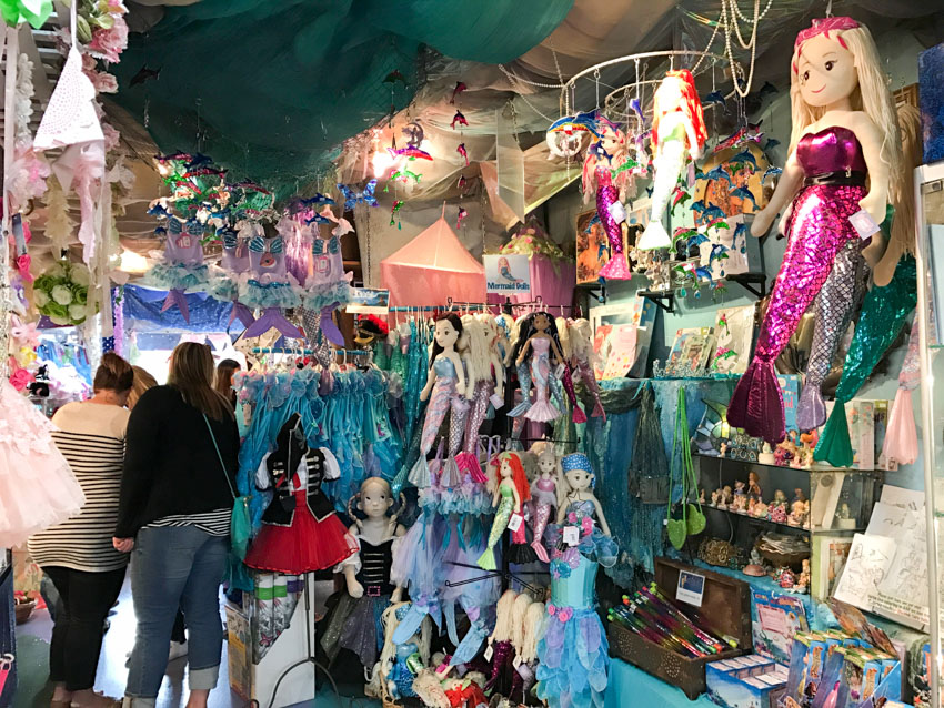 Dolls and other fairy-related paraphernalia