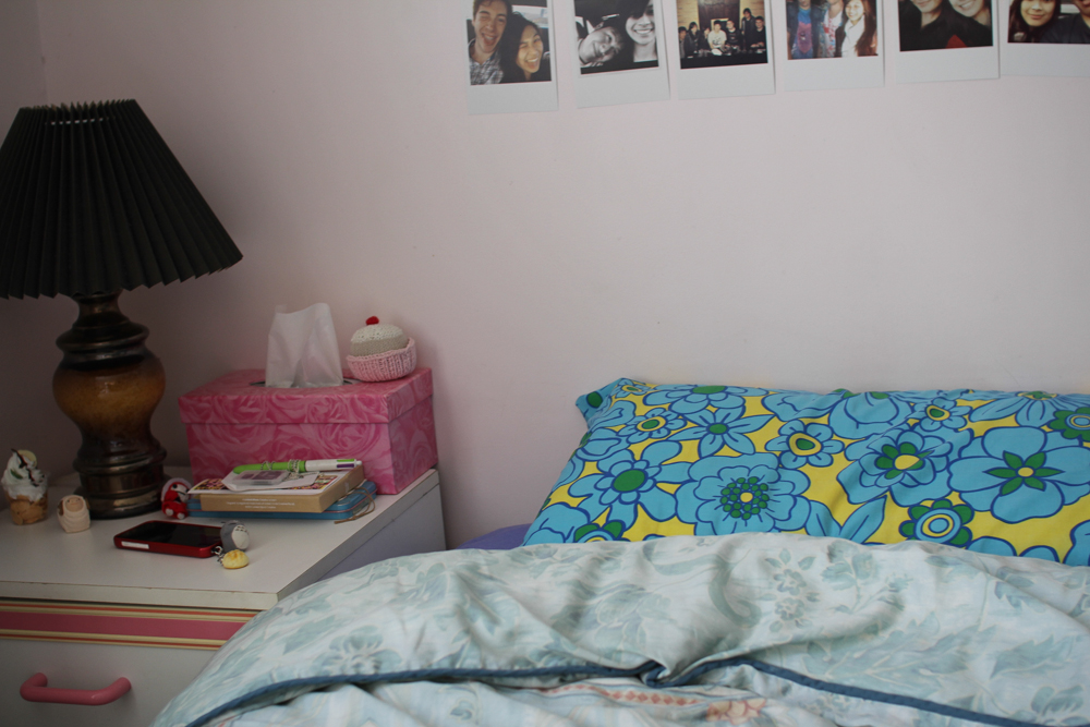 Bed = made.