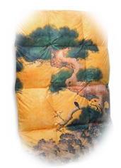京都を拠点とする京都西川ならではの羽毛布団二条城壁画シリーズ