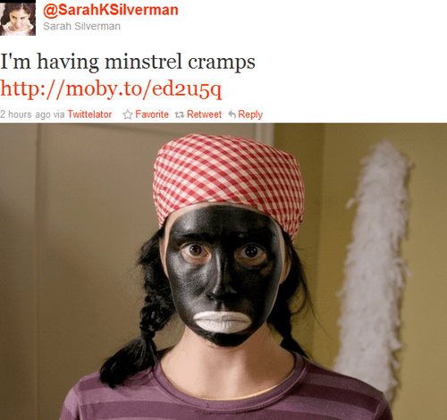 How am I supposed to enjoy your comedy about white feminism now, huh Sarah?