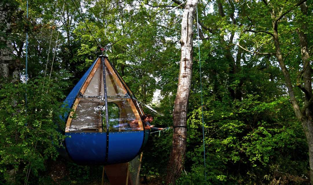 Bizarre but Beautiful Glamping in Style