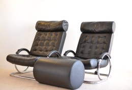Prototeam Black Synchro Chair (only one left)