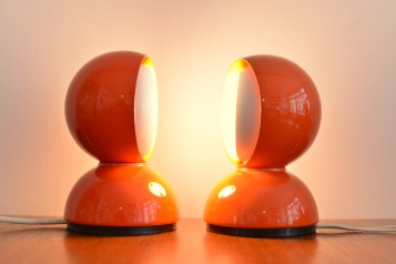 Eclisse Table Lamps by Vico Magistretti
