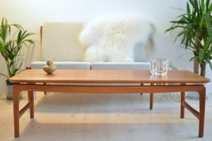 Peter Hvidt and Orla Molgaard Nielsen Solid Teak Coffee Table