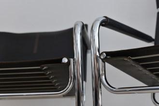 Heinrich Jurg Pfalzberger Rondo Sessel Lounge Chair Stahlrohr