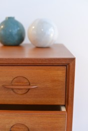 Swiss Teak Swissteak Drawer Kommode Dresser Vintage